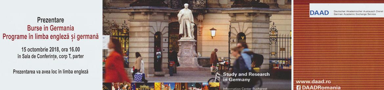 Prezentare DAAD – Burse în Germania